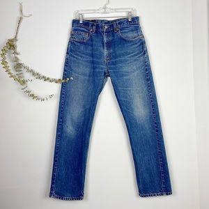 Levi's Mens Vintage 505 Regular Straight Leg Jeans